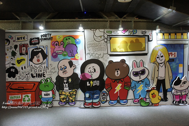 【台北士林區】HERE WE ARE in TAIPEI-LINE FRIENDS 互動樂園